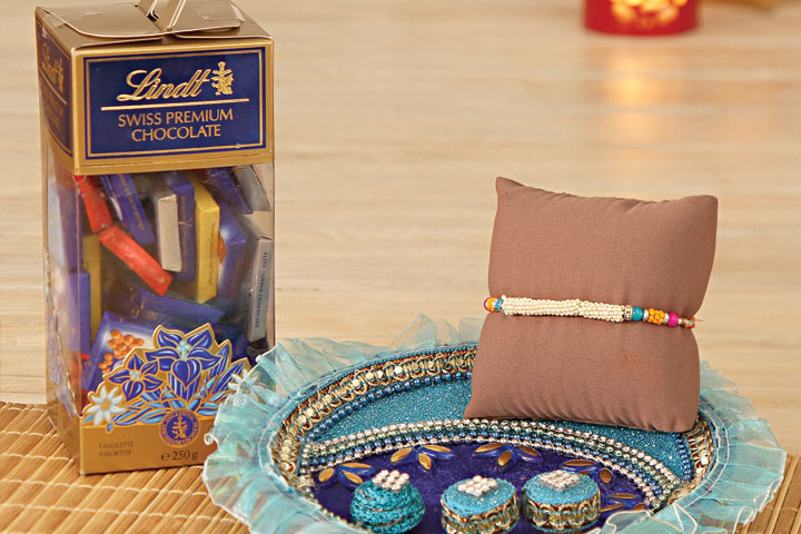 Love Entwined with Rakhi threads