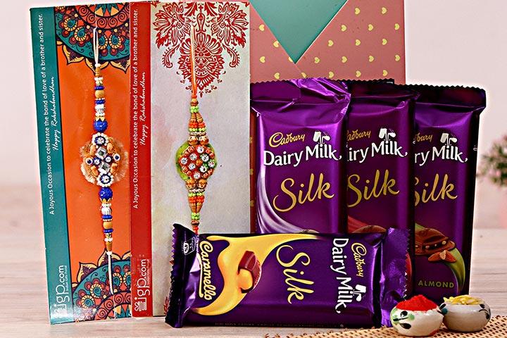 Double the Celebrations with Rakhi and Cadbury's
