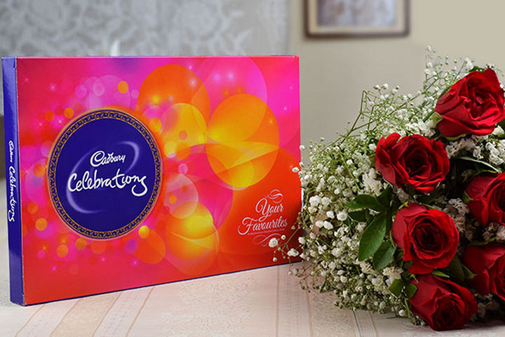 Express Delivery To Send Rakhi with Cadbury Celebrations