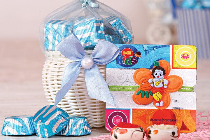 For Bhaiya or baby, Make this rakhi extra special!