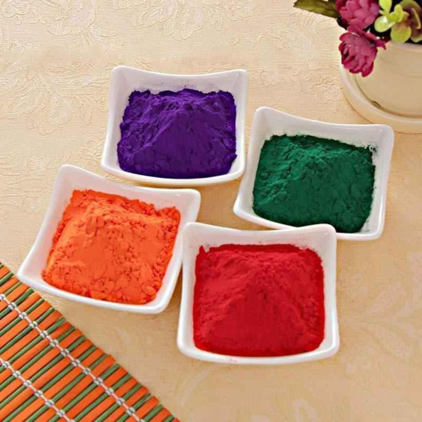 Organic holi colours