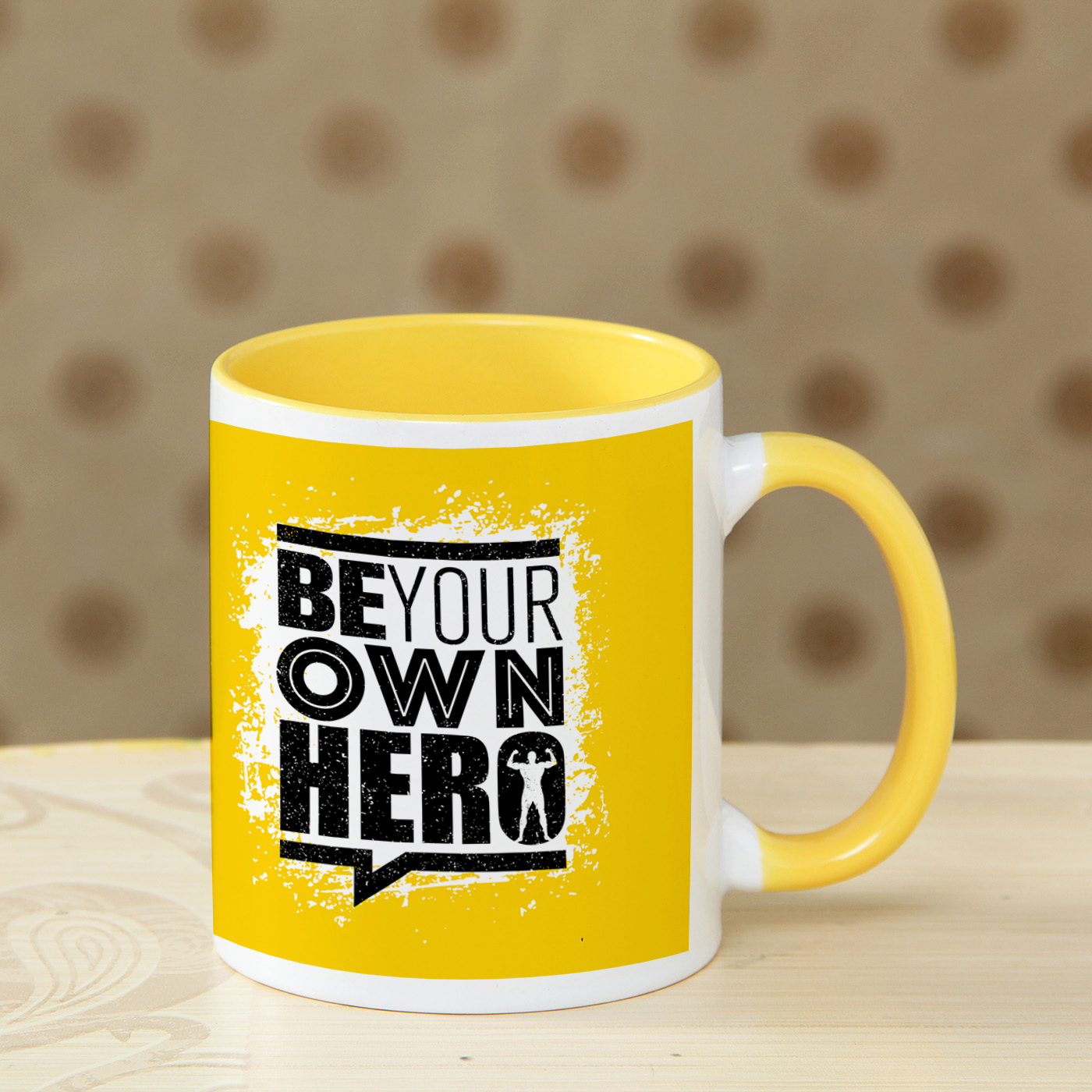 mug for office with motivational quote