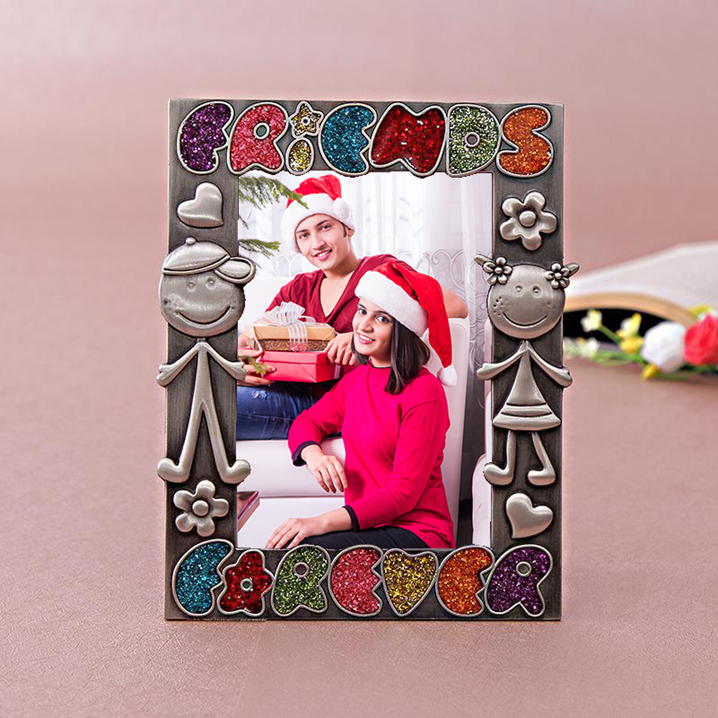 cute friendship personalized photo frame