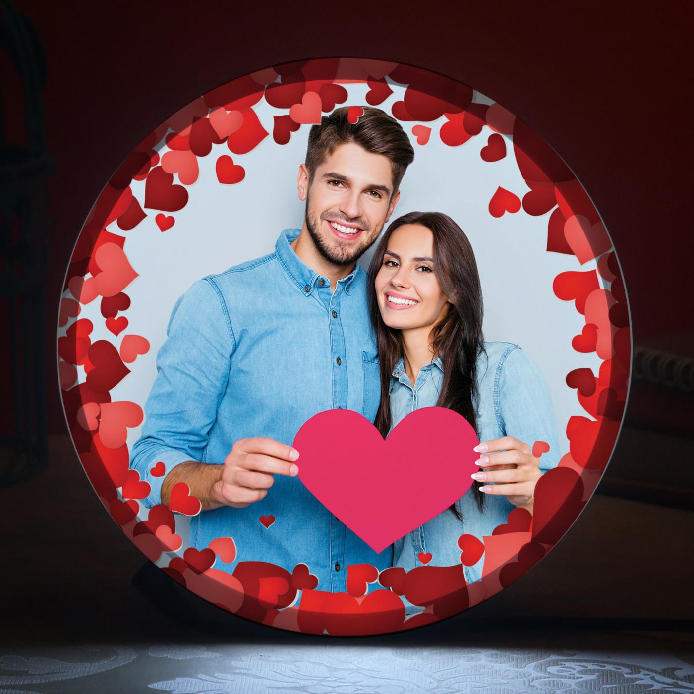 Love All Around LED Photo Frame