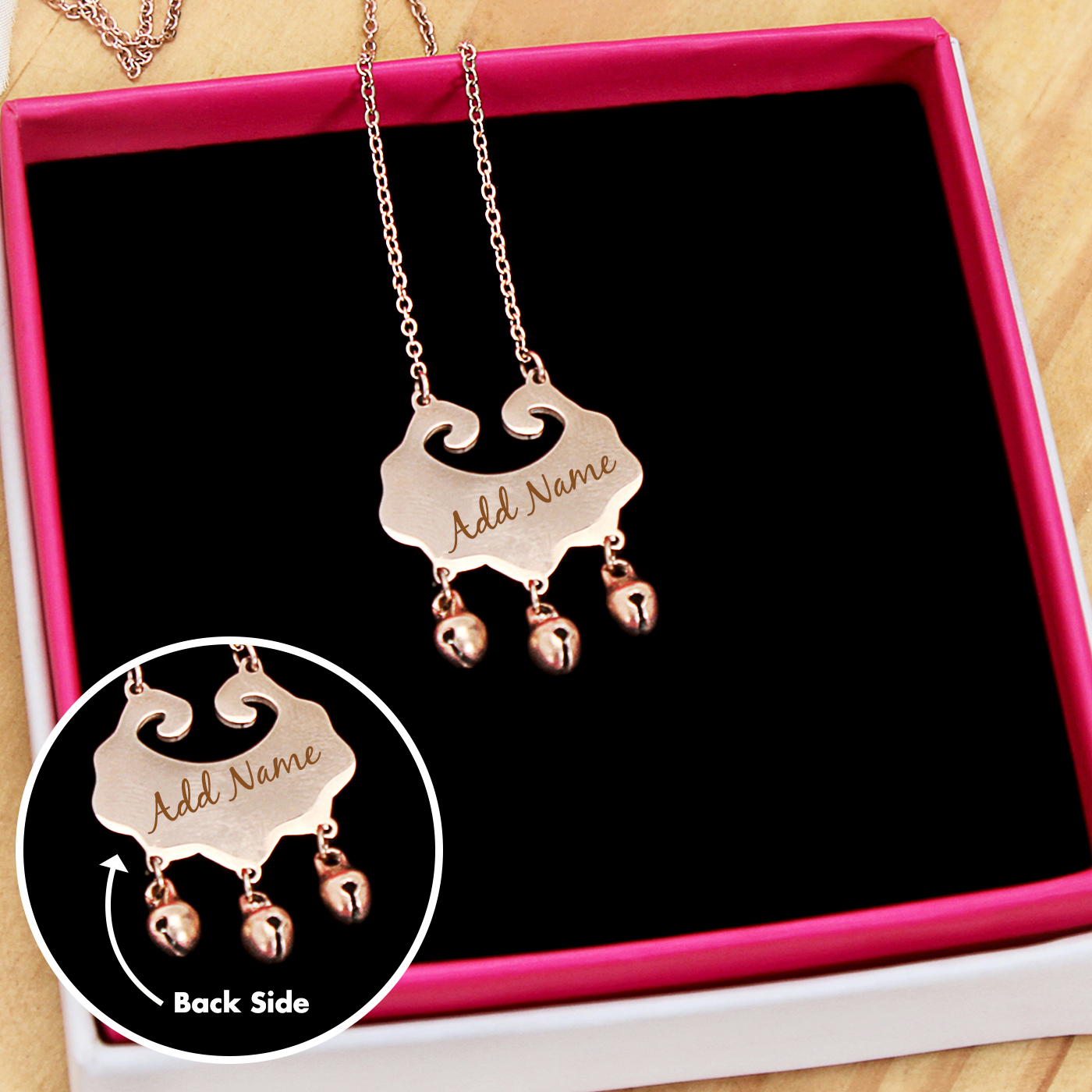 Personalized Ghungru Necklace