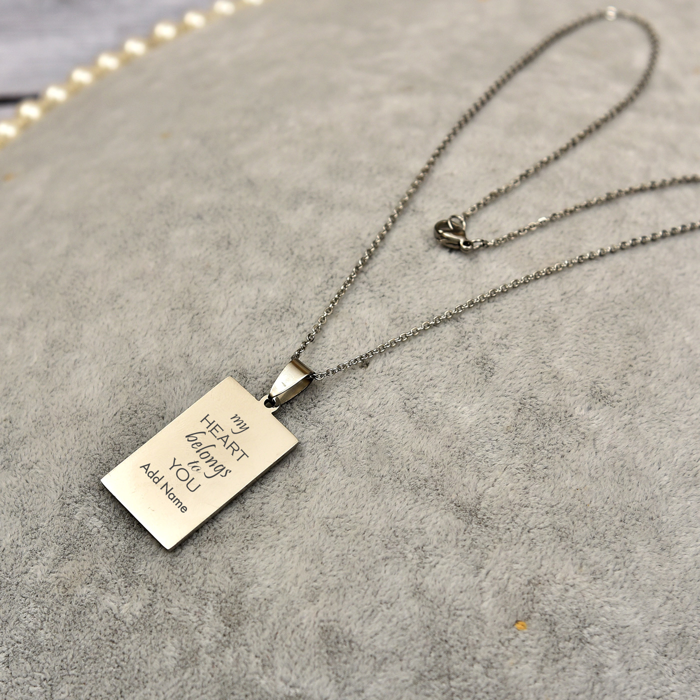 Personalized Name and Quote Pendant