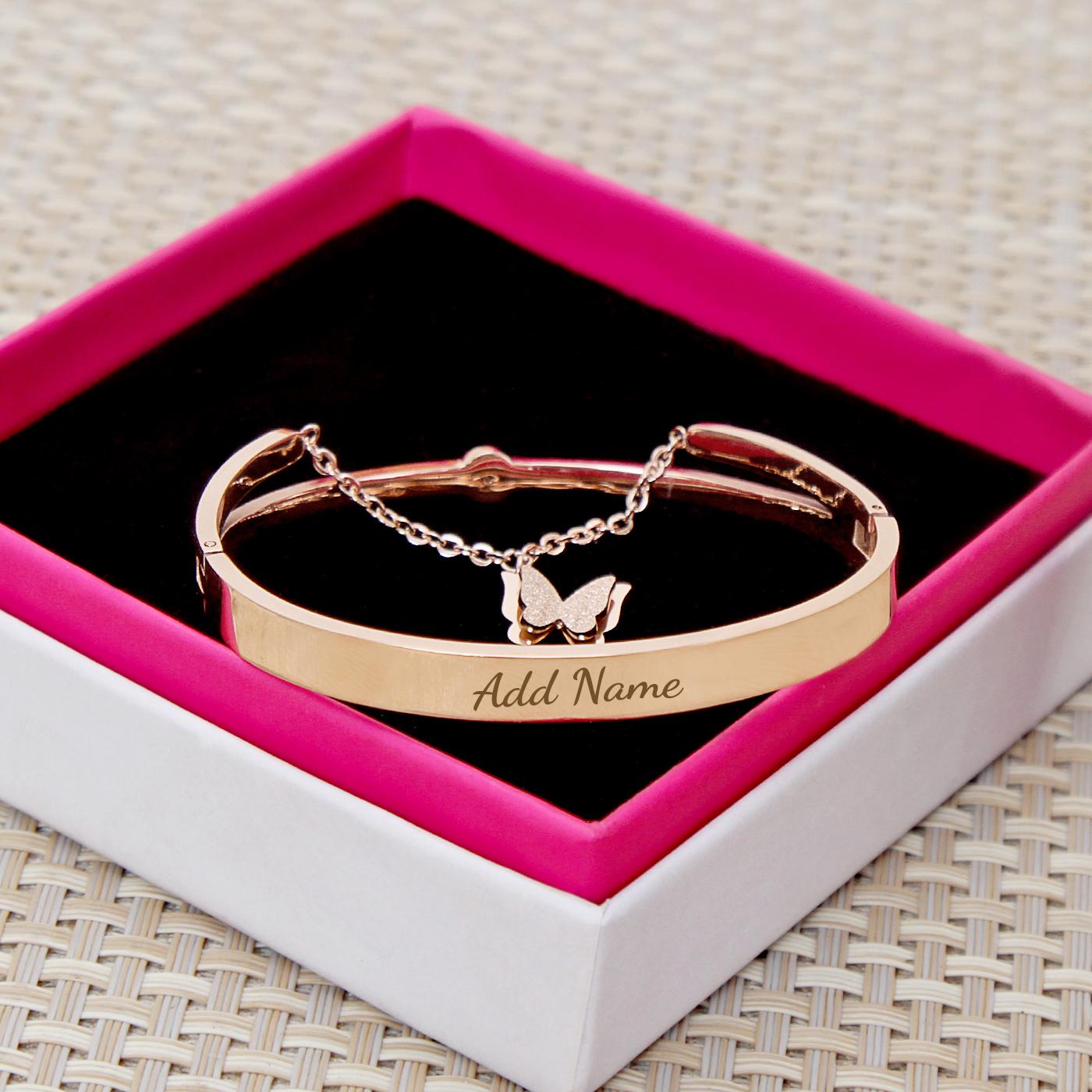 Stylish Rose Gold Bracelet