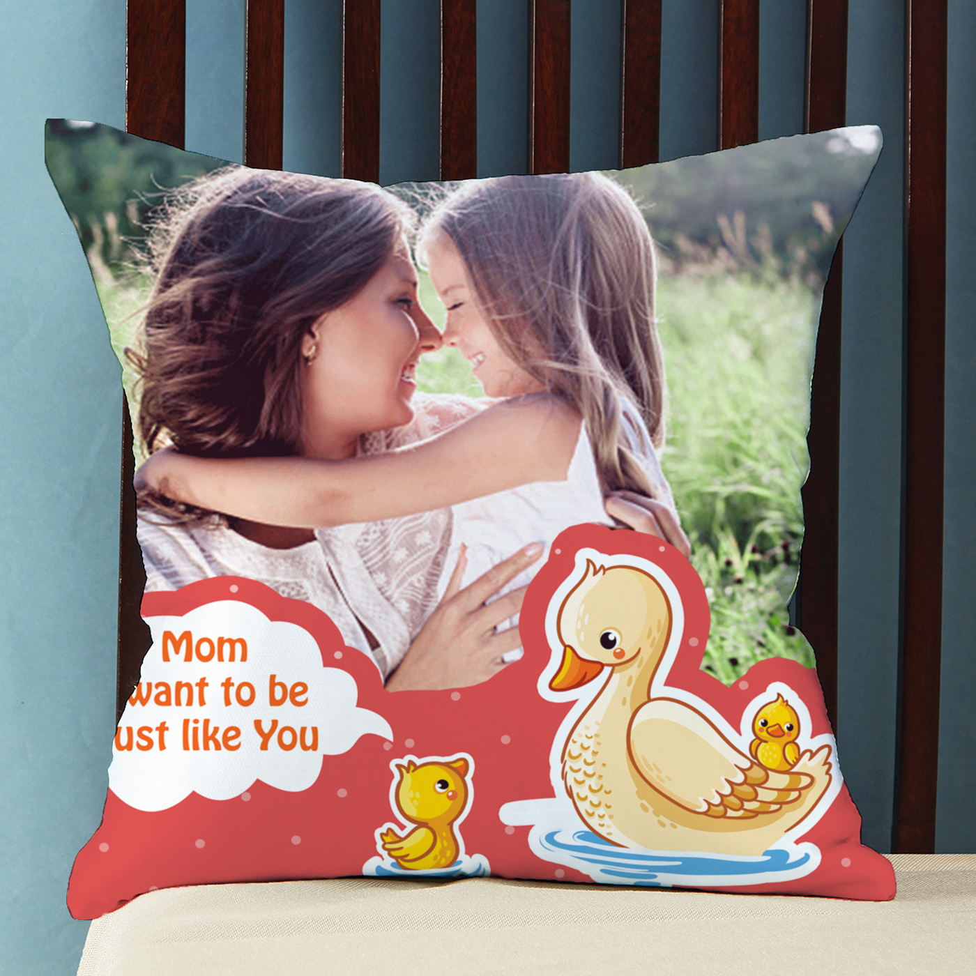 Be Like You Personalized Cushion for Mother