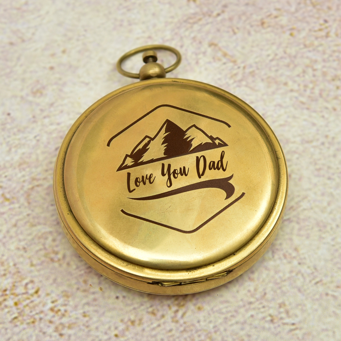 Customized-Love-You-Dad-Brass-Push-Button-Compass