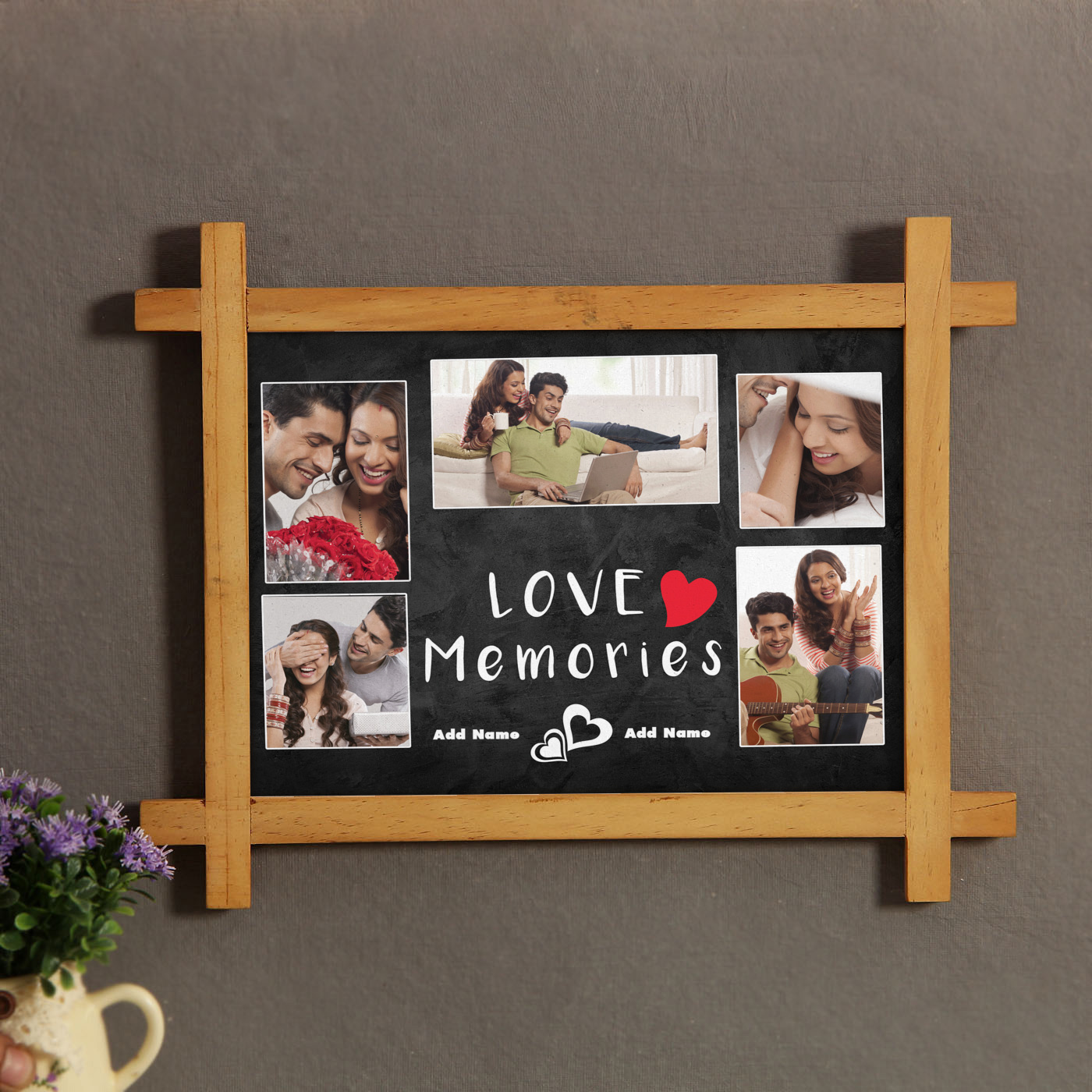 Personalized Wooden Frame