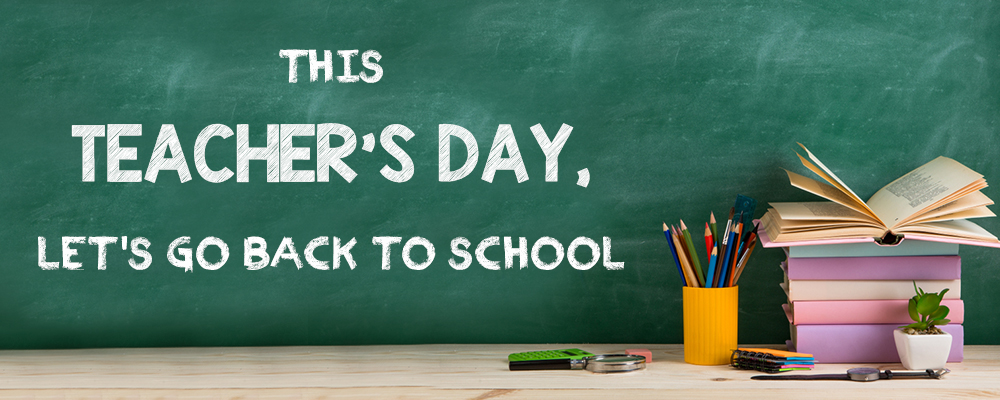 6 Teacher's Day Gifts that Take Your Teacher & You Back in Time