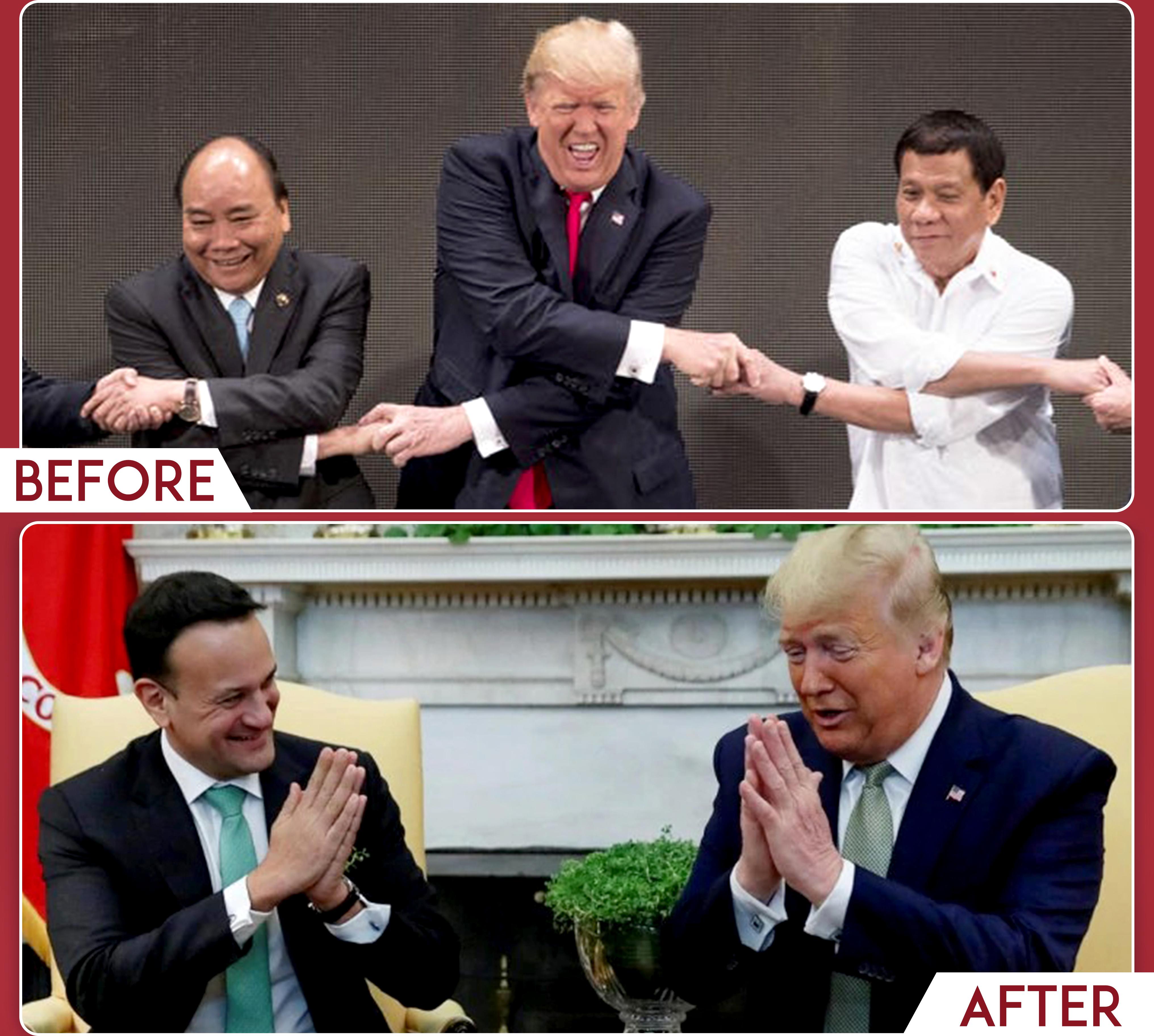 Handshakes_Trump_Namaste