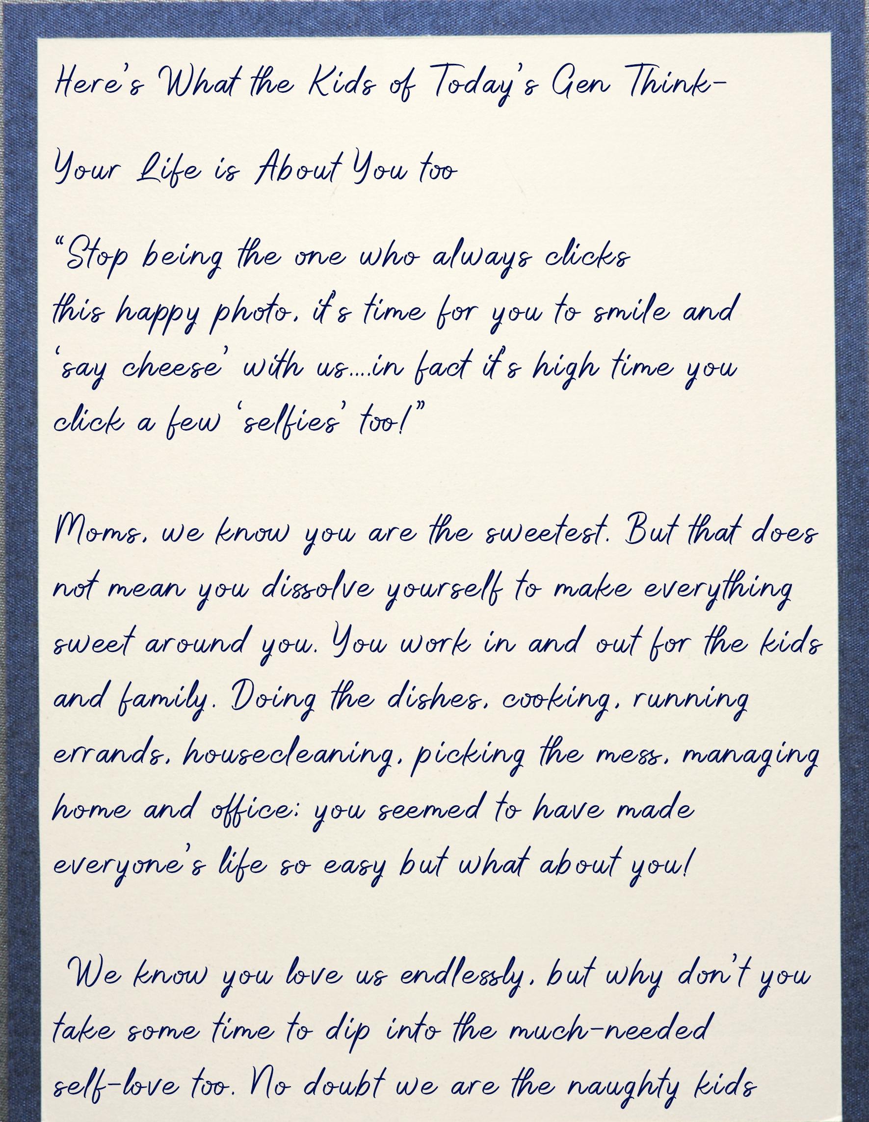 Letter for mom 2