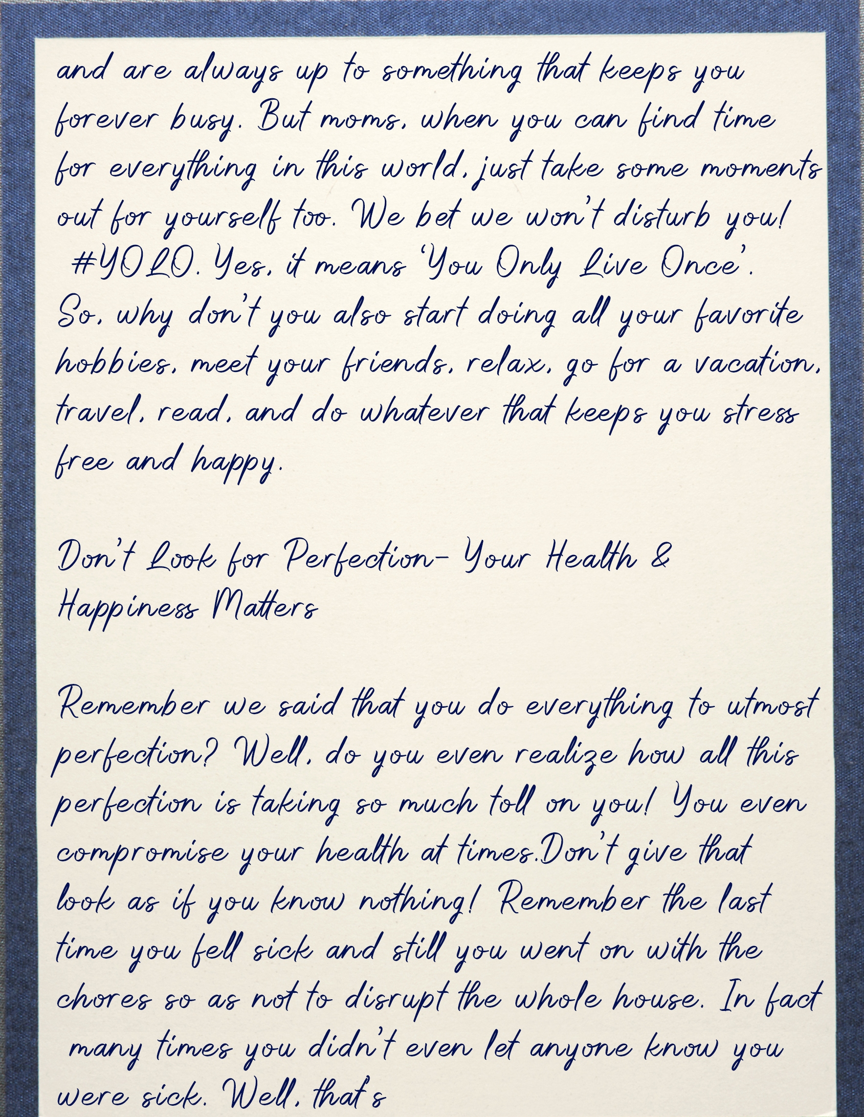 Letter To mom 3