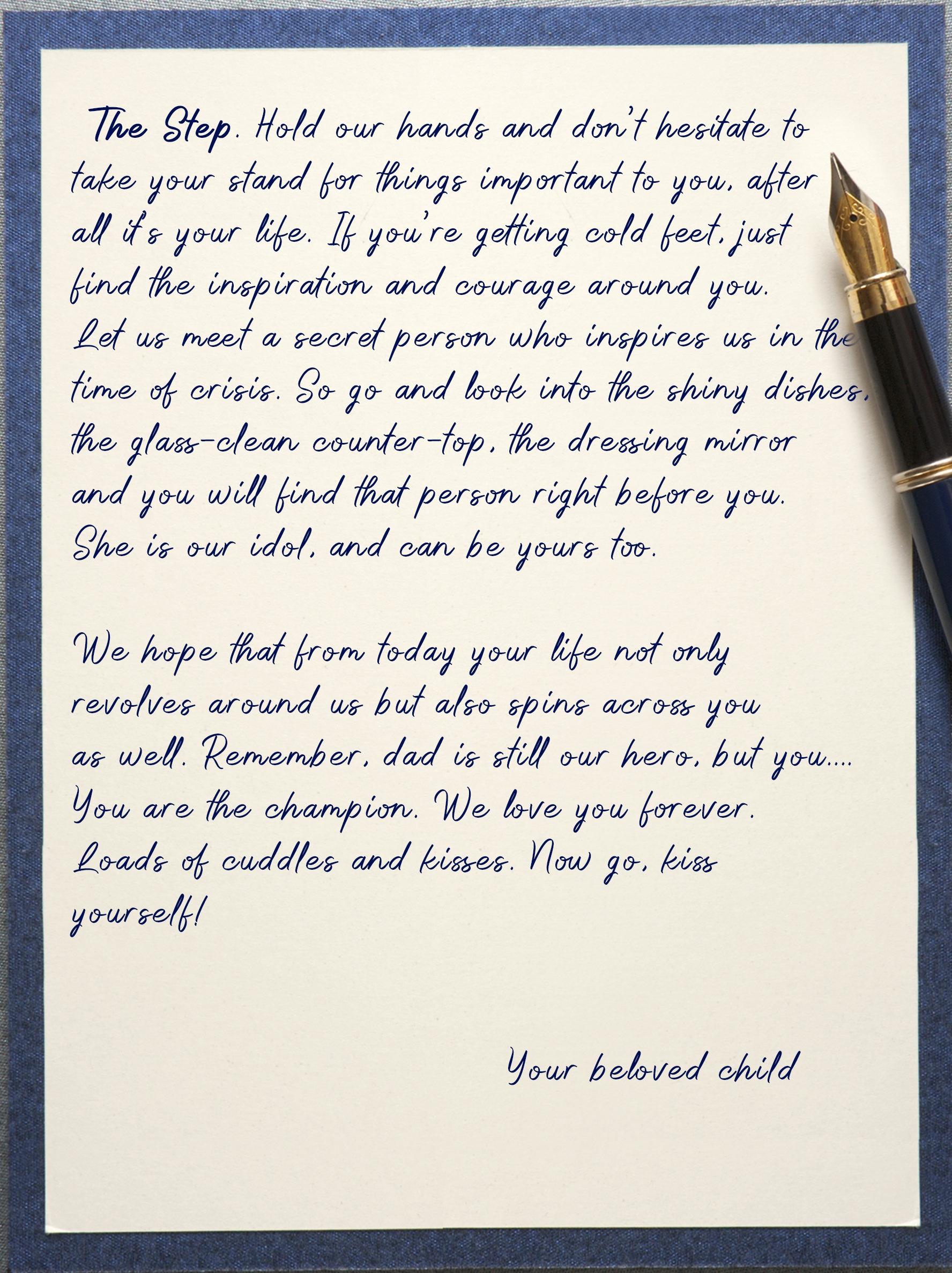Letter for mom 6