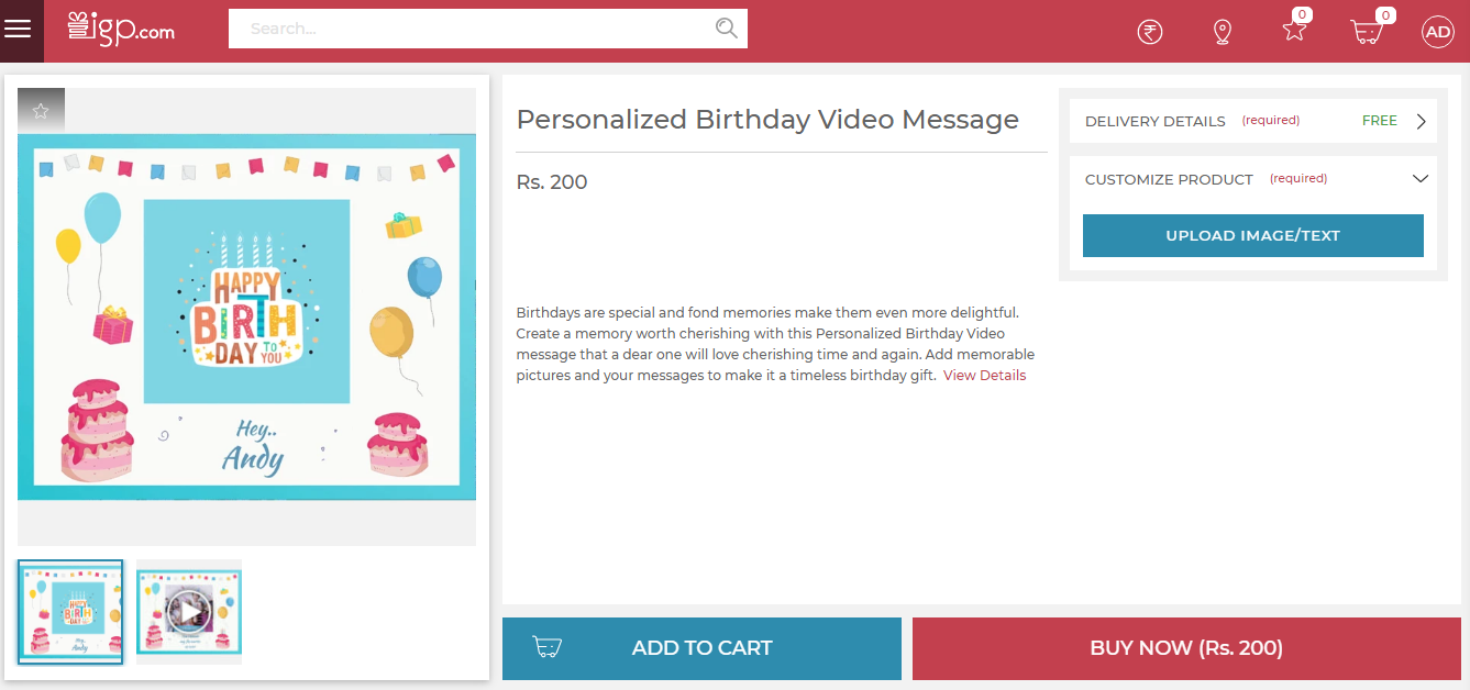 DIY Video Message – How to Send a Video Message via IGP