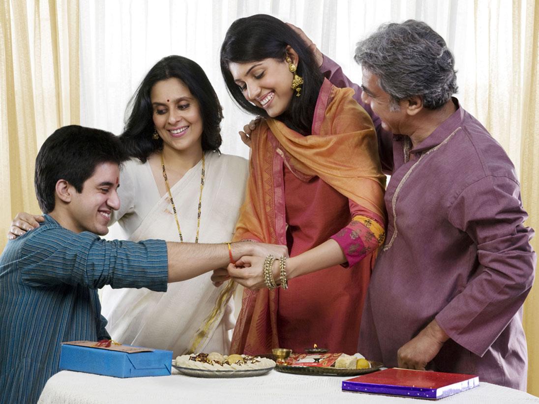 Family Raksha Bandhan