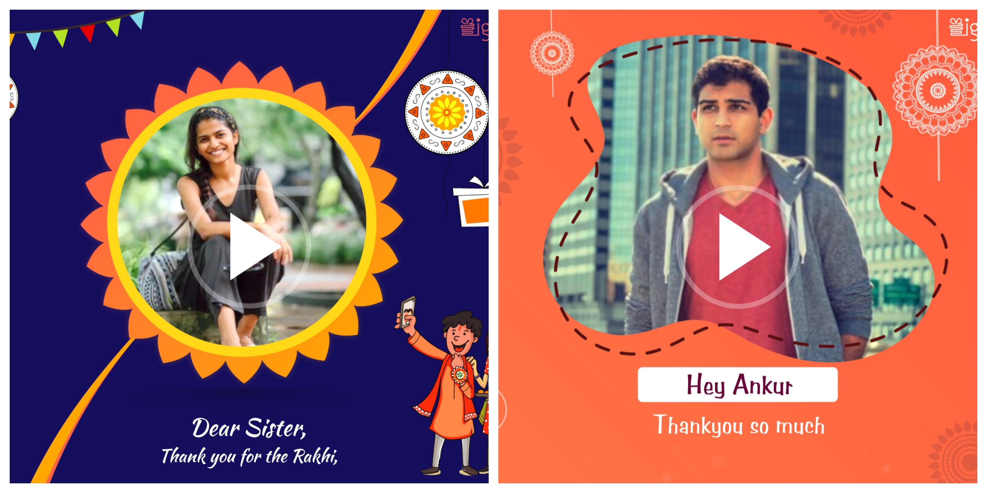 Rakhi Video message