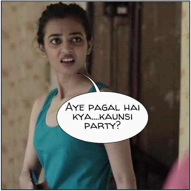 Radhika Apte Meme