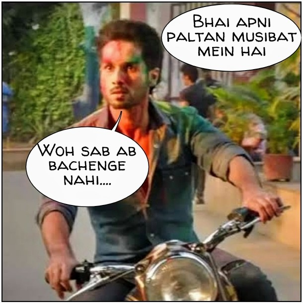 Kabir Singh Angry Meme