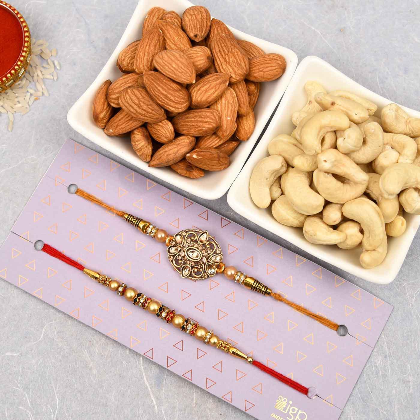 healthy rakhi hamper