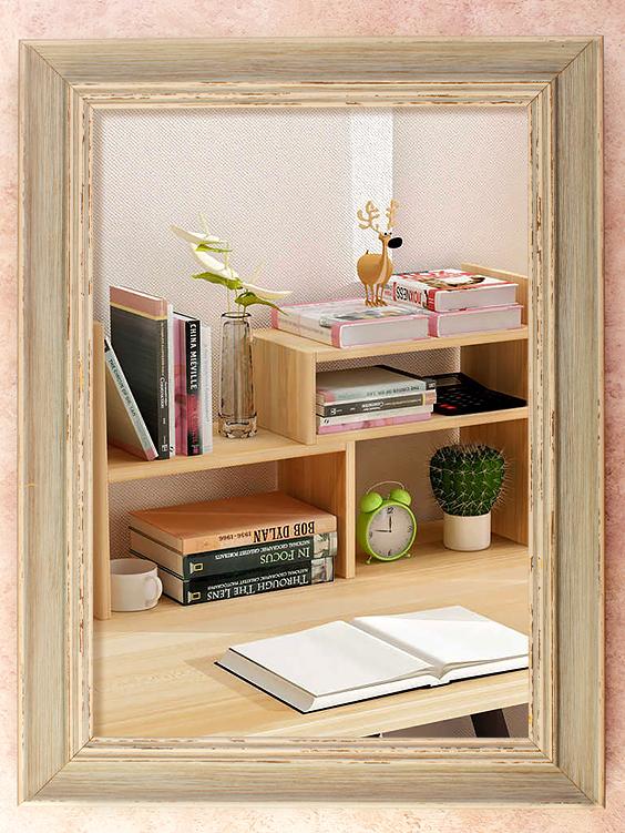 Organised shelf