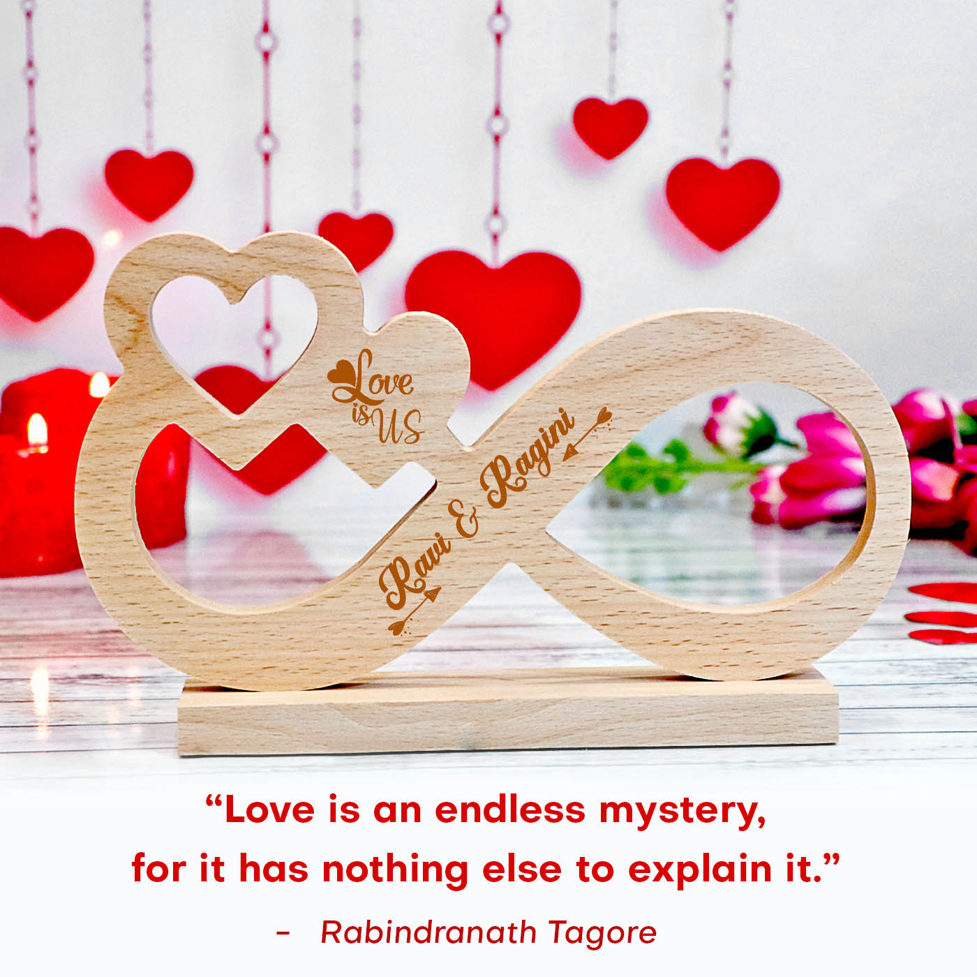 rabindranath tagore love quote