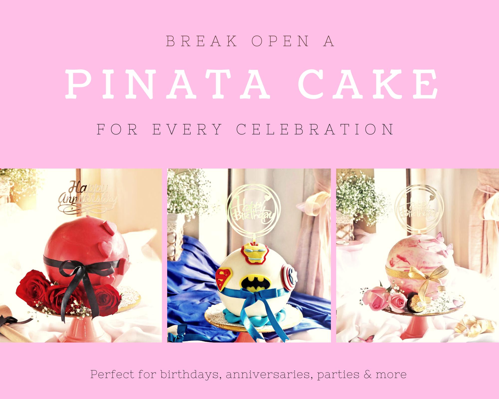 Pinata cake variety