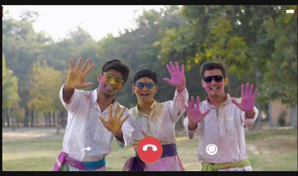 holi video call