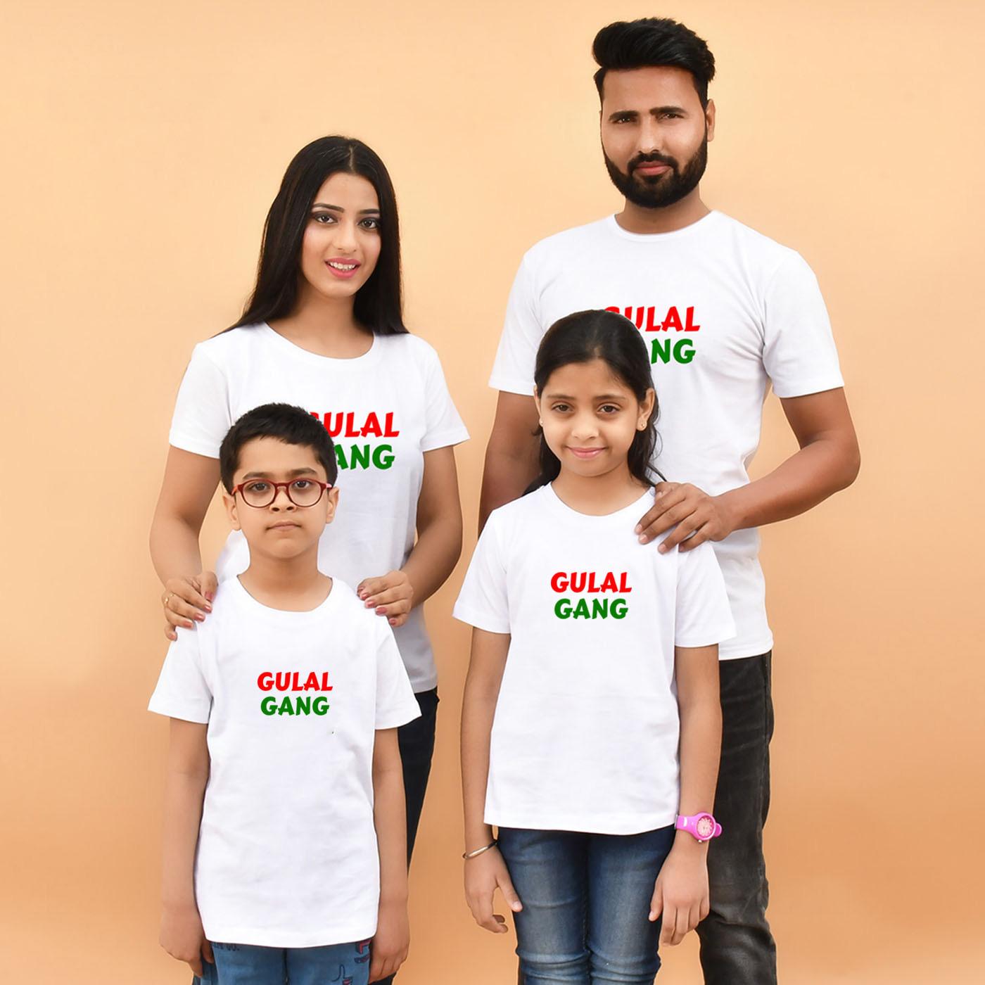 holi with family