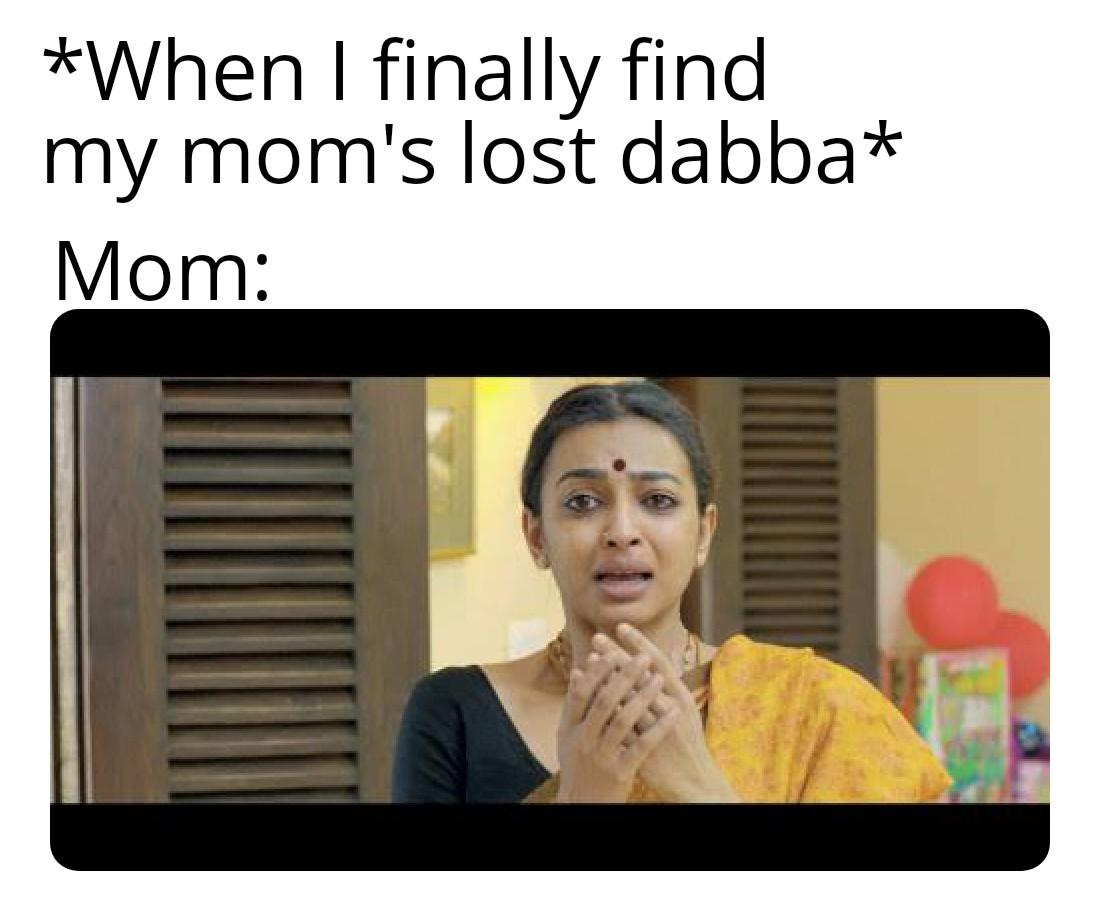 Mom dabba meme