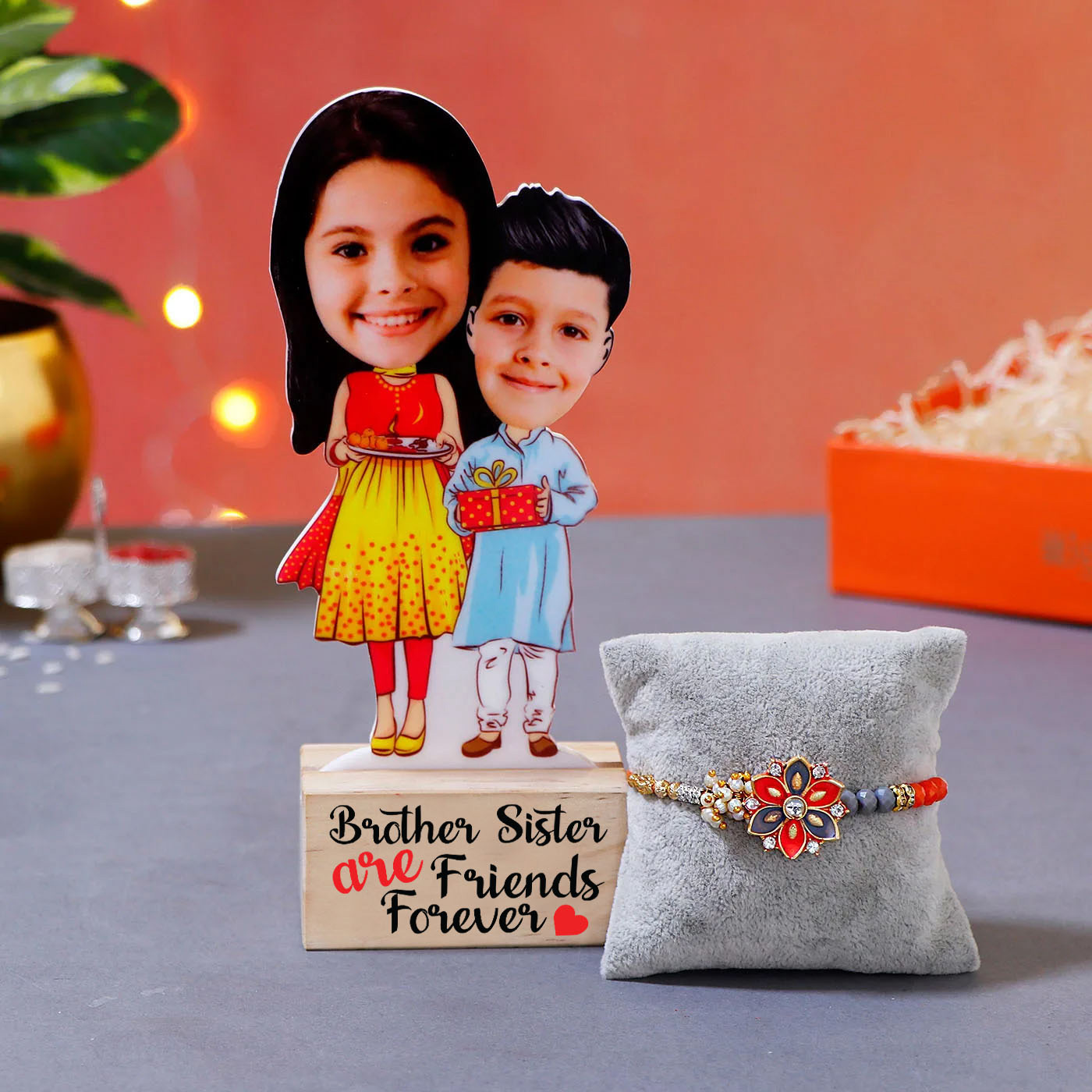 Rakhi_with_Sibling_Caricature